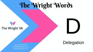 Read more about the article D for Delegation