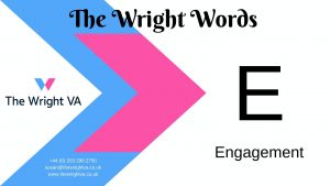 Read more about the article E for Engagement